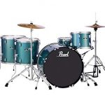 Pearl Roadshow 5-Piece Complete Drum Set with Cymbals - Rock