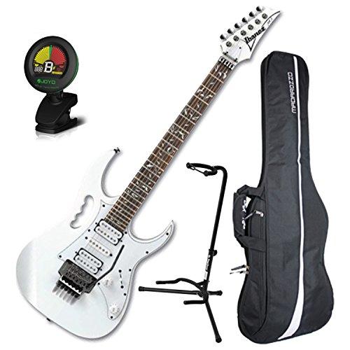 Ibanez Steve Vai JEM JR White Full Size Electric Guitar w/ Gig Bag