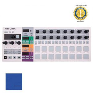 Arturia BeatStep Pro Controller and Sequencer, white, S with Microfiber