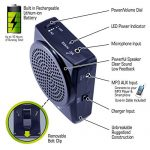 Croove Rechargeable Voice Amplifier, with Waist/Neck Band & Belt Clip, 20 Watts. Very Comfortable Headset 2
