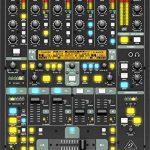 Behringer Digital Pro Mixer Ultimate 5-Channel Digital DJ Mixer