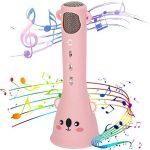 Cosy Life Wireless Kids Karaoke Microphone,Bluetooth Kids Karaoke Machine with Speaker Wireless Echo Voice Recording 1