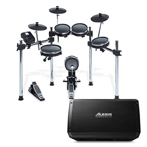 Alesis Surge Mesh Kit + Strike Amp 12   8-Piece All-Mesh Electronic Drum Kit