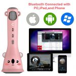 Cosy Life Wireless Kids Karaoke Microphone,Bluetooth Kids Karaoke Machine with Speaker Wireless Echo Voice Recording 2