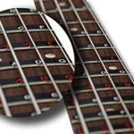 Bass Guitar Fretboard Note Map Decals/Stickers 3