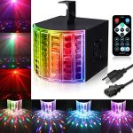 DJ Lights, SOLMORE Party Lights Sound Actived Stage Disco Lights Light Beams