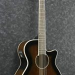 Ibanez AEG1812II AEG 12-String Acoustic-Electric Guitar Dark Violin Sunburst 3