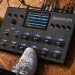 HeadRush Looperboard | 4-In/4-Out Looper with Intelligent Time-Stretch, Built-In FX, 7-inch Touchscreen, SD Card input, Click Track and Quantization, 300 Built-in Loops and USB Audio Connectivity 1