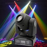 XPC 2PCS LED Moving Head Light Spot 4 Color Gobos Light 60W DMX with Show KT V Disco DJ Party for Stage Lighting(2Pack-60W) 1