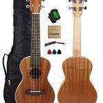 Kulana Deluxe Concert Ukulele, Mahogany Wood with Binding and Aquila Strings
