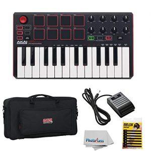 Akai Professional MPK Mini MKII | 25-Key Ultra-Portable USB MIDI Drum Pad