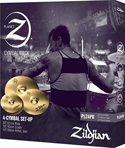 "Zildjian Planet Z 4 Cymbal Set (14"" pr, 16"", 20"")"