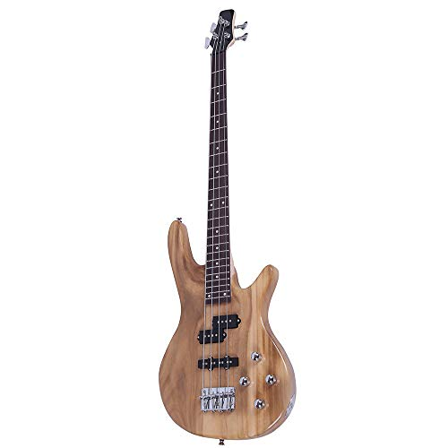 Exquisite Stylish IB Bass Guitar with Power Line and Wrench Tool