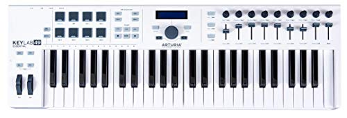 Arturia KeyLab Essential 61 Keyboard MIDI Controller Includes Analog Lab software