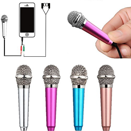 Uniwit Mini Portable Vocal/Instrument Microphone For Mobile phone laptop