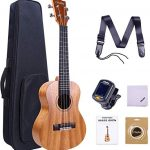 Concert Ukulele, Ohuhu 23 Inch Ukelele for Uke Beginners, with Tuner