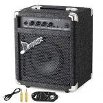Donner 15W Bass Guitar Amplifier Electric Practice Bass Combo AMP