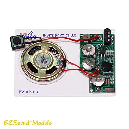 Set of 3 EZSound Module - Push Button Activated