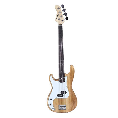 Electric Bass Guitar Glarry GP Flame Left-Hand HSH Pickup Shaped Electric Guitar