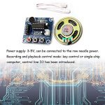 Ximimark 2Pcs ISD1820 Sound Voice Recording Playback Module Sound Recorder Board With Microphone Audio Loudspeaker 3