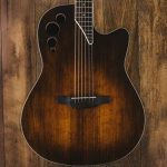 Ovation Applause 6 String Acoustic-Electric Guitar, Right, Vintage Varnish, Mid-Depth (AE44II-VV) 3
