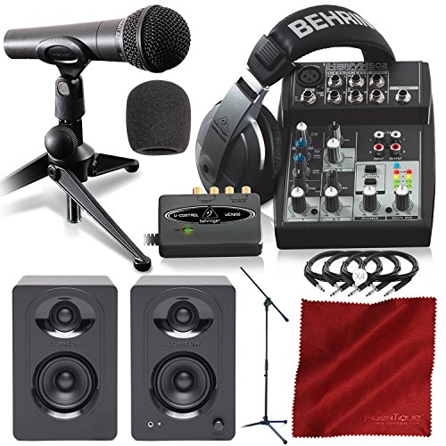Behringer PODCASTUDIO USB Complete Podcasting Kit w/USB Audio Interface