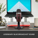 Blue Yeti Nano Premium USB Mic for Recording and Streaming – Red Onyx 1