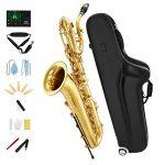 Eastar BS-Ⅲ Baritone Saxophone E Flat Brass Intermediate with Tuner Case