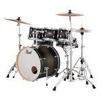 Pearl Drum Set, Satin Black Burst, inch (DMP927SPC262) 1