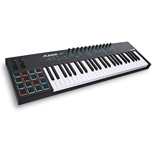 Alesis VI49 | 49-Key USB MIDI Keyboard Controller with 16 Pads