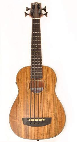 Hadean Acoustic Electric Bass Ukulele
