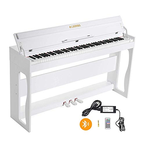 LAGRIMA LG-802 88-Key Beginner Digital Piano with Full-Size Weighted Keys