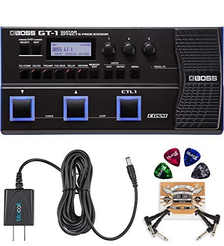 BOSS GT-1 Guitar Multi-Effects Processor Bundle with BOSS Tone Studio