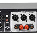 Rockville RPA5 1000 Watt Peak / 500w RMS 2 Channel Power Amplifier Pro/DJ Amp 2