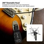 ammoon Wireless Guitar System 2.4G Rechargeable 6 Channels Audio Transmitter Receiver for Electric Guitar Bass 3