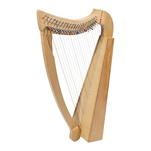Roosebeck 23-String Heather Harp w/Full Chelby Levers