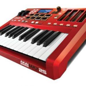Akai Professional | 25-Key USB MIDI Keyboard & Drum Pad Controller