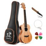 Donner Solid Electro-acoustic Ukulele Electric Tenor Ukulele EQ 26 inch
