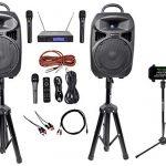 "Rockville 8"" iPhone/ipad/Laptop/TV Karaoke Machine/System+Wireless"