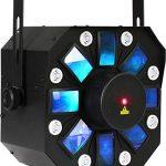 Chauvet DJ 3-in-1 Stage Lighting Effect | Laser & Strobe Effects