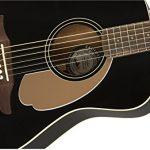 Fender Malibu Player – California Series Acoustic Guitar – Jetty Black 3