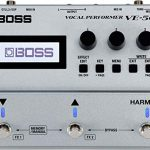BOSS VE-500 Vocal Performer Multi-Effects Pedal Bundle with Blucoil 5-FT MIDI Cable, Bundle with Blucoil 10-FT Balanced XLR Cable, and 5-Pack of Reusable Cable Ties 1