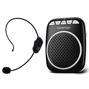 W WINBRIDGE Wireless Voice Amplifier, Portable Microphone and Speaker
