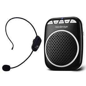 W WINBRIDGE Wireless Voice Amplifier, Portable Microphone and Speaker