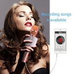 Ankuka Bluetooth Karaoke Microphone, 3 in 1 Multi-Function Handheld Wireless Karaoke Machine for Kids, Portable Mic Speaker Home, Party Singing Compatible with iPhone/Android/PC (Rose Gold) 1