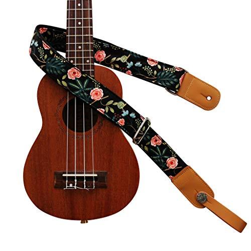 """MUSIC FIRST Original Design """"Dark Night Garden"""" Soft Cotton & Genuine Leather"""