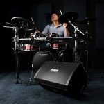 Alesis Strike Amp 12 | 2000-Watt Ultra-Portable Powered Drum Speaker / Amplifier With 12-Inch Woofer, High-Frequency Compression Driver and Contour EQ 1