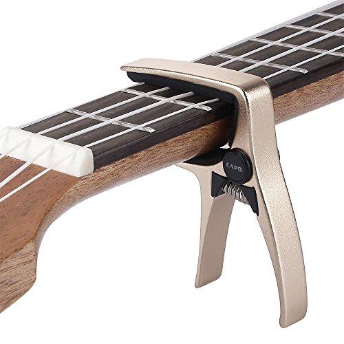 Mini Size Professional 4 String Guitar Capo, Ukulele Capo
