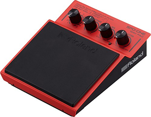 Roland Percussion Electronic Drum Pad, WAV, Red