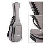 Tenor Ukulele Gig Bag 26 inch Soft Carring Case Double Strap With 3 Picks By Kmise 2
